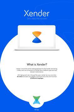 Xender Branding on Behance
