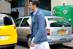@simonemarchetti Man #streetstyle Paris, #fashionweek