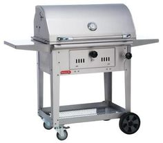 Bull Bison 30-Inch Charcoal Grill On Cart
