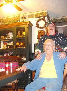 Me and my nana I love you nana and miss you dearly