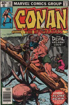 Conan The Barbarian (1979) #comics #cover #conan