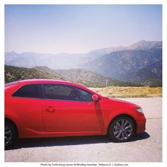 "Rebecca S. likes to take her Forte ""KoupaTroupa"" to the mountains. And we like her Forte's nickname!"