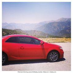 "Rebecca S. likes to take her Forte ""KoupaTroupa"" to the mountains. And we like her Forte's nickname!"