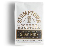 coffee branding New Packaging for Stumptown Coffee Roasters by LAND Food Packaging Design, Coffee Packaging, Coffee Branding, Bottle Packaging, Packaging Design Inspiration, Packaging Ideas, Coffee Box, Coffee Girl, Drip Coffee