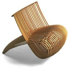 Marc Newson : Bamboo Chair, Idée Edition | Sumally