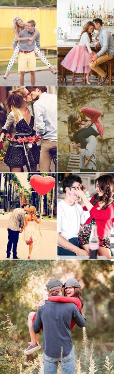 Clothes for Romantic Night - Show your love! 35 Sweet Valentine's Day Couple Photo Ideas! A Casual Date - If you are planning an unforgettable night with your lover, you can not stop reading this! Funny Couple Photography, Engagement Photography, Photography Poses, Wedding Photography, Couple Posing, Couple Shoot, Couple Ideas, Engagement Pictures, Wedding Pictures