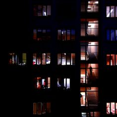 Looking at night time windows in Italy.....