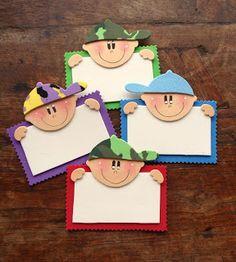 toys - Reciclagem divertida e artesanato: carinhas Kids Crafts, Foam Crafts, Craft Stick Crafts, Easy Crafts, Diy And Crafts, Arts And Crafts, Puppet Crafts, Classroom Decor, Activities For Kids