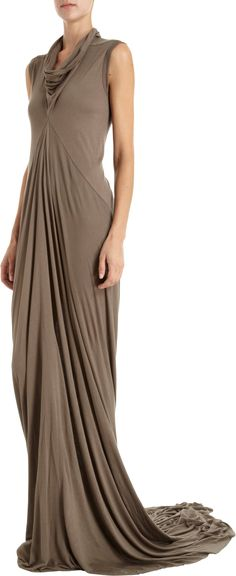 rick-owens-cowl-neck-long-dress-