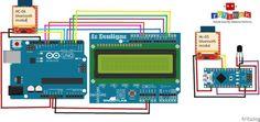 Bluetooth Wireless LCD Data Transfer