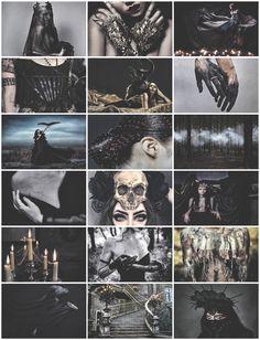 Hell Queen aesthetic