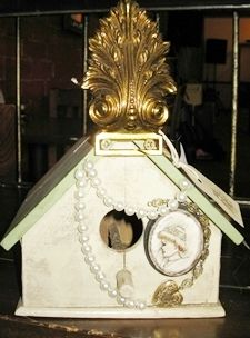 """Lovely """"Victorian"""" Birdhouse #1. Listed on Etsy."""