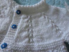 casaquinhos de trico para bebe passo a passo - Pesquisa Google
