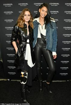 Olivia Palermo and Chanel Iman attend as COVERGIRL Opens The Doors To Their First Flagship Store; An Experiential Makeup Playground on December 2018 in New York City. Get premium, high resolution news photos at Getty Images Chanel Iman, Confessions Of A Shopaholic, Street Style 2018, Olivia Palermo Style, Img Models, Gal Pal, Party Fashion, Covergirl, Times Square