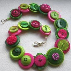 Necklace buttons