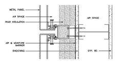metal panel plan detail