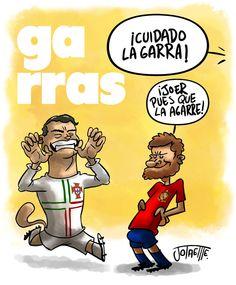 Garras... jajaja ( via @Futbol Sapiens)
