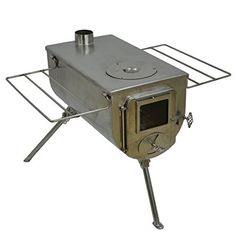 Amazon.com : Frontier Stove and Kit - Wood Burning Stove : Sports & Outdoors