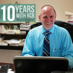 Congratulations to our Vice President, Jim Newcomb, on his many years of dedication to R.C. Brayshaw & Company! May we celebrate many more with you!