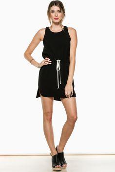 ShopSosie Style : In A Pinch Dress in Black