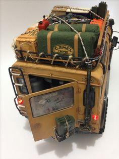 Land Rover Camel Trophy CC01 Tamiya RC Crawler