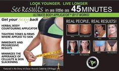 Tighten, tone firm in 45 minutes! Look your best for your Holiday parties! Wraps are $ 25 each or a box of 4 wraps for $ 59 as a loyal customer www.shrinkmefit.com