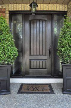 This woodgrain fiberglass door is simple and down to earth. .doorwayinc.ca & Entrance Door-Single Solid Fiberglass Woodgrain Door with 2 Side ... Pezcame.Com