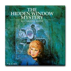 """Nancy Drew Hidden Window Tile Coaster by CafePress . $10.50. 4.25"""" x 4.25"""" and 1/6-inch thick. Dishwasher safe. Not for use with abrasive cups and mugs. Four felt pads protect your furniture from scratches. Ceramic. Nancy Drew"""