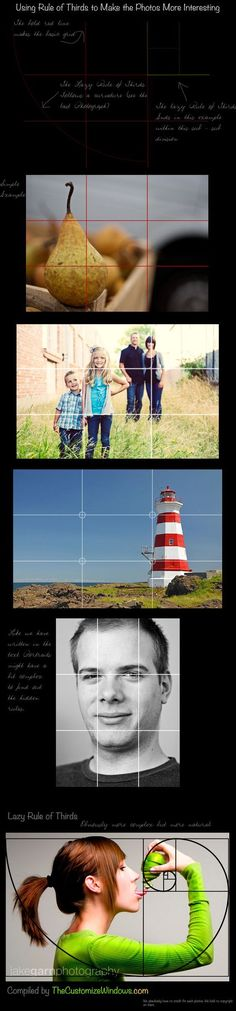 Using Rule of Thirds to can make a photo more interesting – be it Landscape, Portrait or Still Life. Learn how to make beautiful photo using fundamental rule.