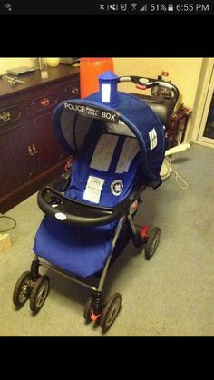 Doctor who stroller