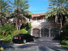 2515 Mercedes Dr #FortLauderdale #RealEstate Harbor Beach, Fort Lauderdale, Real Estate, Mansions, House Styles, Home Decor, Decoration Home, Manor Houses, Room Decor