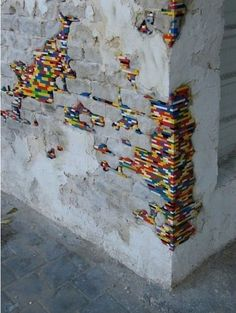 URBAN INTERVENTION| LEGO WALL