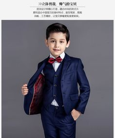 Cheap boys suits for weddings, Buy Quality wedding boys suits directly from China kids blazer boys Suppliers: 2016 new arrival fashion baby boys kids blazers boy suit for weddings prom formal black/navy blue dress wedding boy suits Black And Blue Dress, Navy Blue Dresses, Navy Suits, Baby Boy Fashion, Kids Fashion, Fashion Dolls, Planer Cover, Boys Wedding Suits, Boy Fashion