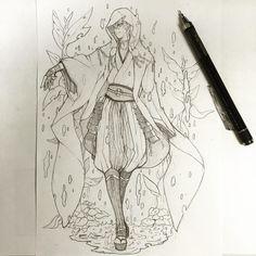#刀剣乱舞 #鶴丸国永 by sakamotonagiya