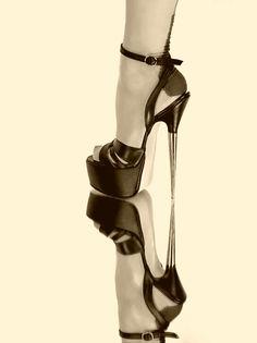 Extreme High Heels, Sexy High Heels, High Heels Stilettos, Stiletto Heels, Nylons Heels, Hot Heels, High Platform Shoes, Sexy Feet, Ideias Fashion