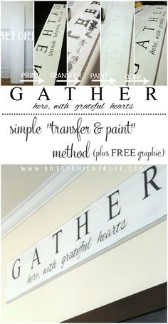 DIY Farmhouse Gather