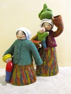 kyrgyzstan felt dolls - Google'da Ara