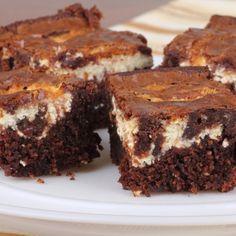 A Delicious recipe for chocolate and cream cheese tuxedo brownies.�. Tuxedo Brownies Recipe from Grandmothers Kitchen.