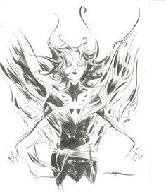 Dark Phoenix by Jae Lee