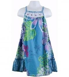tropic floral lawn dress it ROOKS!