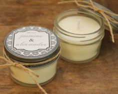 favors + candles - Google Search