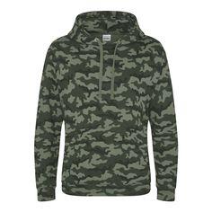 Just Hoods JH014 Jungle Camo Hoodie - £19.49