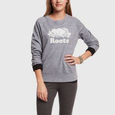 Roots - World Famous Crew size s