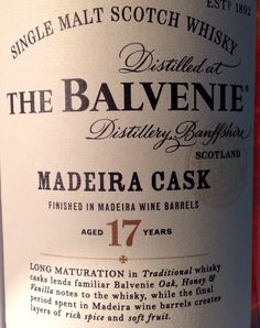 Balvenie 17yo Madeira Cask 43%