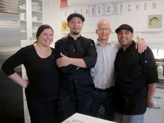 Owners Michael Madden, Amy Negri and the kitchen crew of Vintage 1891 Kitchen.