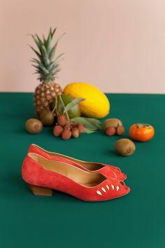 Chaussures lucette sanguine - chaussure - des petits hauts 1