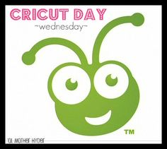 Call all Cricut'ers!  Use you Cricut...post things to your blog that you made with your Cricut...  come link up! :D