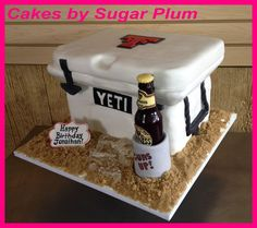 Yeti Cooler Cake. Except maybe open. And not at the beach. And ...