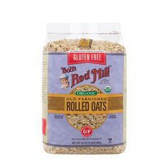 Gluten Free Organic Old Fashioned Rolled Oats