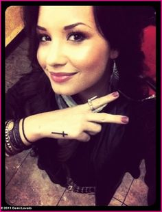 Demi Lovato Tattoos Picture for Fans | Best Tattoo Pictures